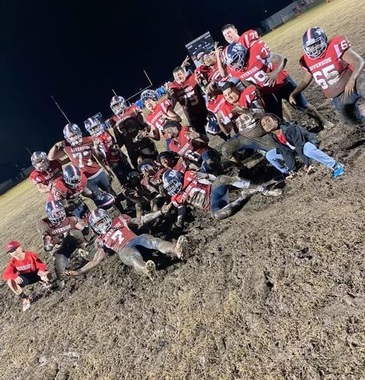 The Rebels didnt let a little mud stop their playoff run. The team advances to the quarterfinals next week against Vermilion Catholic.