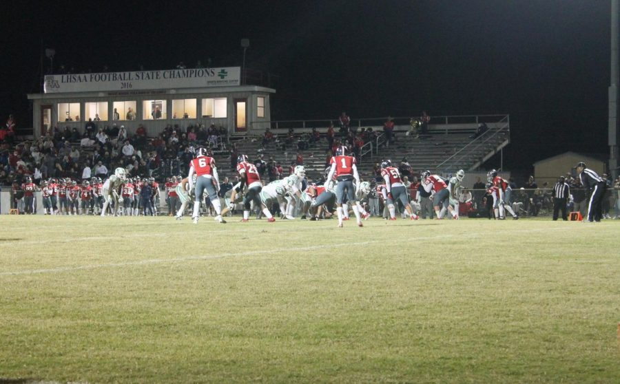 The Rebels faced a tough task in stopping the Greenies and star QB Arch Manning