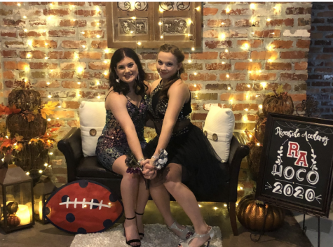 Layken Epperly, left, will reign as queen and her cousin Alysa Epperly as Princess at the RA Carvinal Ball this weekend.
