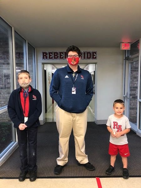Bennett Beadle, Haeden Wahden and Payton Adams were selected Students of the Week for March 24.