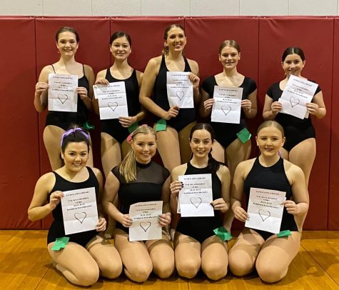 The 2021-2022 Southern Sweethearts Dance team.