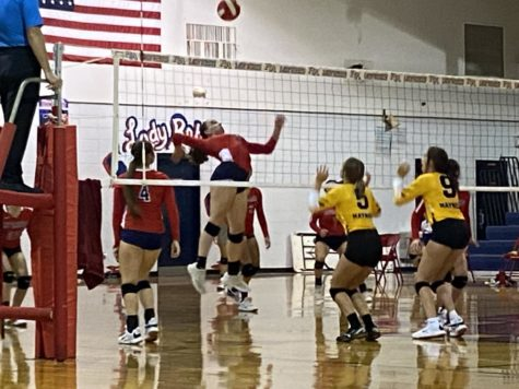 The Lady Rebels played their first home game of the season on Sept. 24.